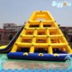 Inflatable Floating Climbing Inflatable Pool Slide with Climbing Wall Tower