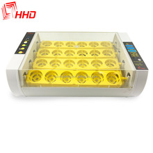 High hatching rate 24 eggs mini chicken egg incubator for sale HHD