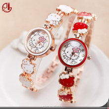 Children Watches Cartoon Bracelet Kids Watches For Girls