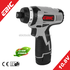 10.8V Li-ion electric cordless impact mini screwdriver