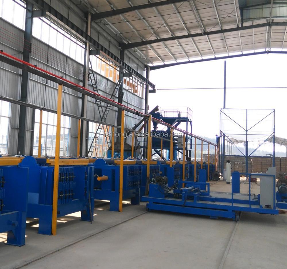 Hongfa concrete wall machines hollow core wall machine precast concrete wall panel making machine gypsum board machine