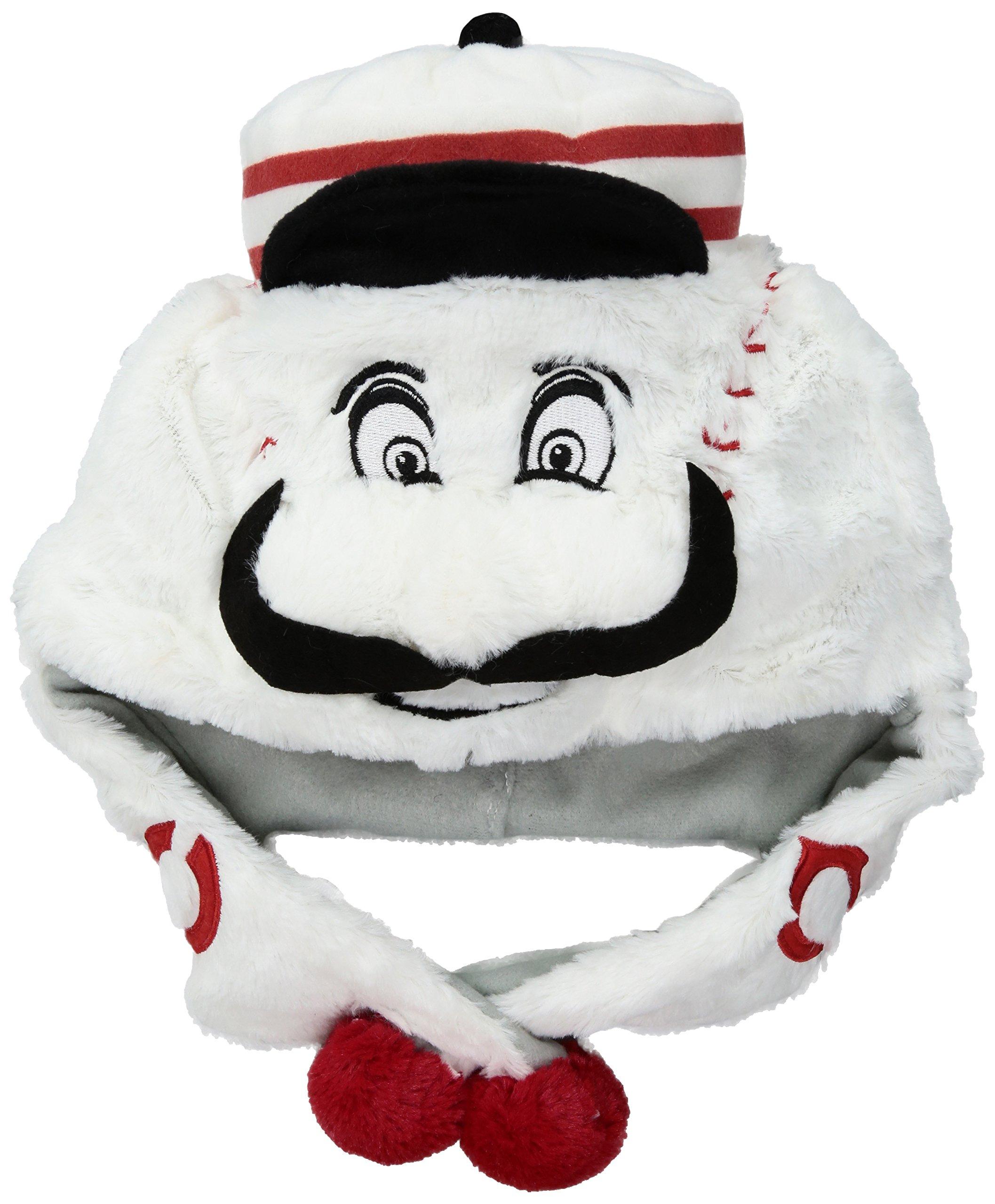 MLB Cincinnati Reds Thematic Mascot Dangle Hat