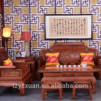 Economic And Efficient Handmade New Model Wooden Sofa Set