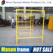 Made in China Wuxi scaffolding constructions Q235 steel hot sale hot dip galvanized Mason H ladder frame scaffolding