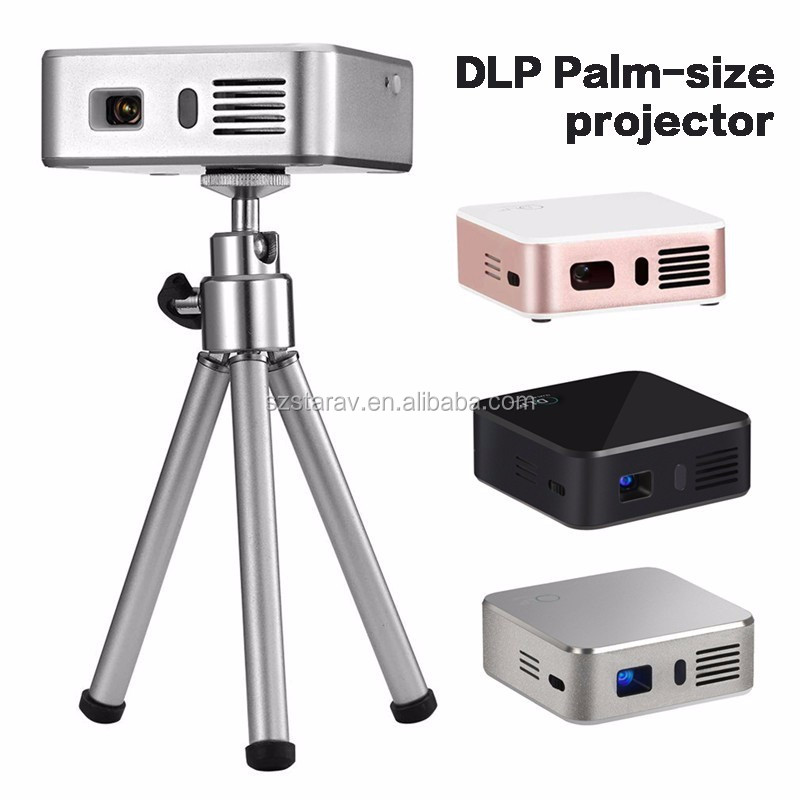 Hot new products for 2016 mini projector latest projector mobile phone Pocket Cinema DLP LED Pico Projector Smart E05