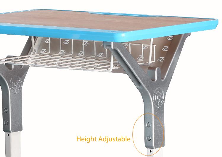 L Doctor grupo mesa de estudio clase escritorio con altura ajustable