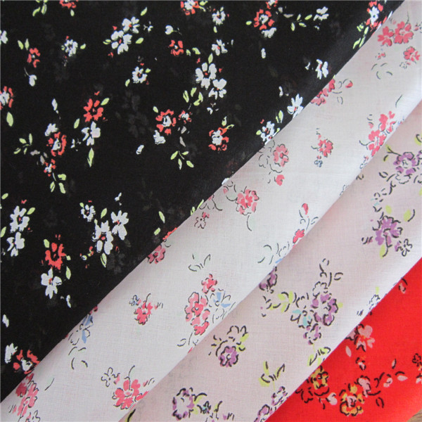 AZ-00855 2014 NEW DESIGN 100% COTTON VOILE FABRIC PRINTED COTTON FABRIC