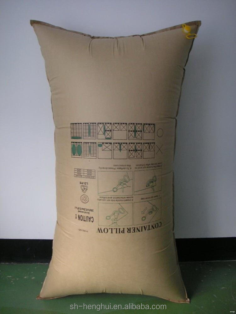 Made in china trade assurance top speed container dunnage air bag