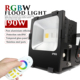 200W RGBW LED Flood Light 2.4g COB 200W RGB LED Food lamp 200W RGBW LED Wall washer multicolor Color changing LED Floodlight