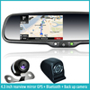 4.3 inch gps navigation rearview mirror gps mirror rearview mirror navigation