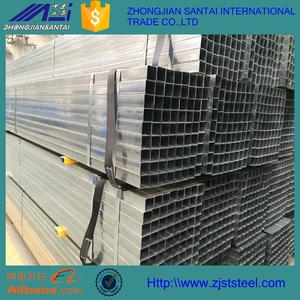 Dx52d Hot Dipped Galvanized Square Tube 100*100