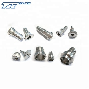 China supplier custom stainless steel/brass hydraulic JIC compression fittings