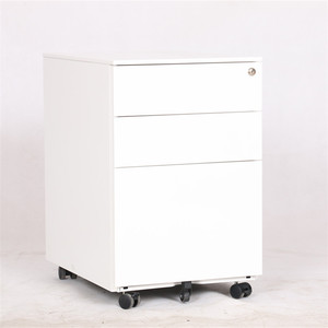 under Office Workstation Commercial Furniture Steel File Cabinet/Mobile Pedestal 3 Drawers