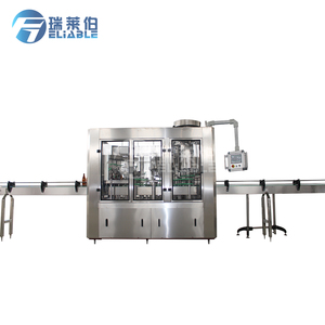 Small Scale Automatic Carbonated Wine Glass Bottling Plant / Production Line