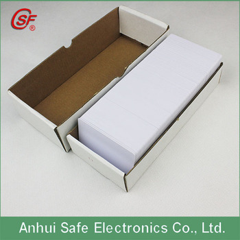 Standard Size Magnifying Business Cards Blank Pvc Id Card 3d Plastic