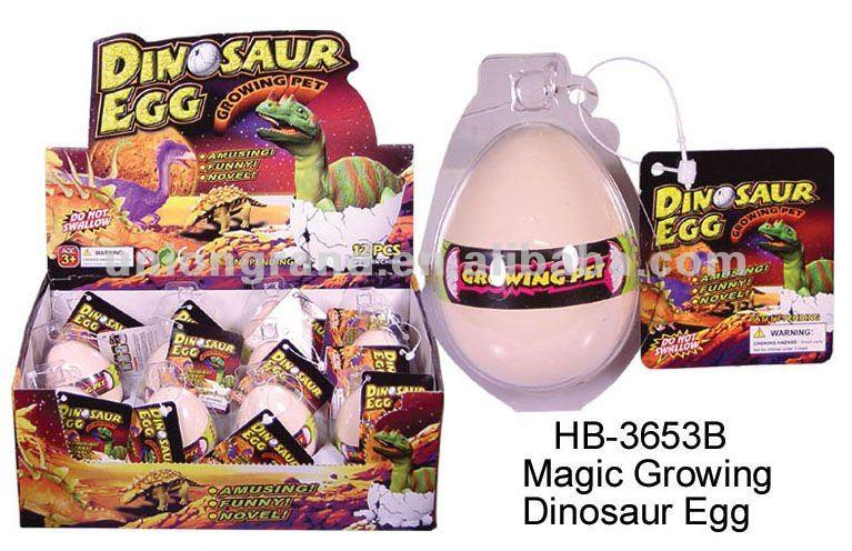 magique croissante dinosaure oeuf