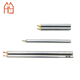 Different size Premier HB lead Pencil - Metallic Silver