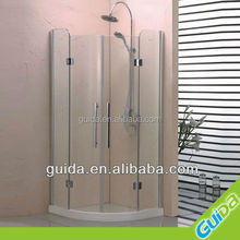 Guida high quality modern easy toughened glass shower cabin shower room