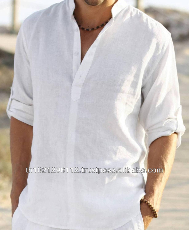 Mens Linen Summer Shirts Buy Custom Made Shirtcustom Made