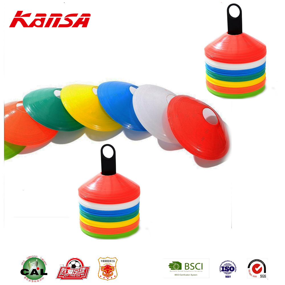 Kansa-C-1 Wholesale Colorful Sports Plastic Durable Football Cone