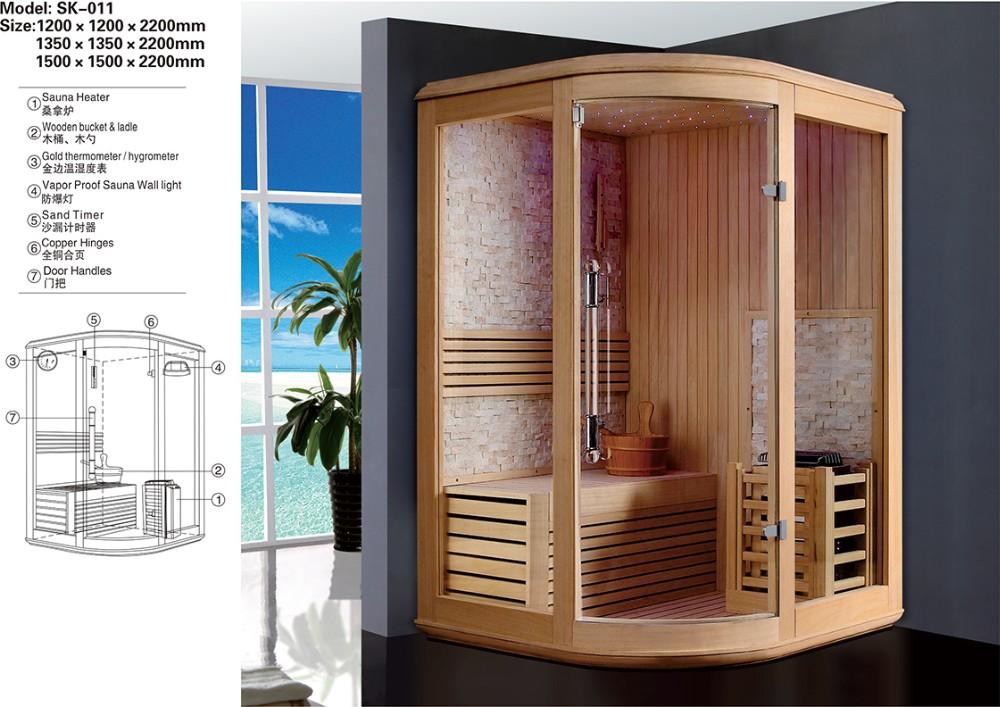 dry heat home one person sauna mini corner sauna room. Black Bedroom Furniture Sets. Home Design Ideas