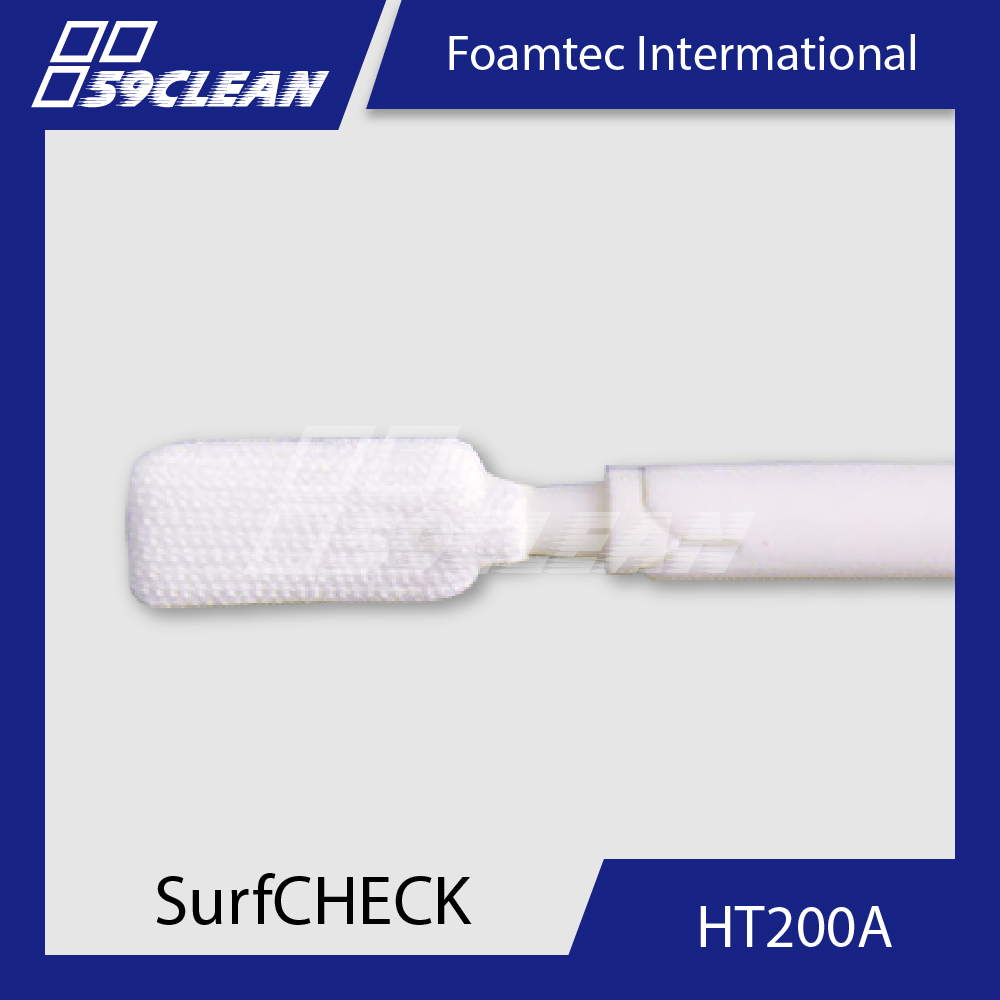Foamtec HT200A Lab Cleaning Polyester Swab For Industrial Use