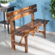 LS-1032,Outdoor Antique Timber Garden Bench