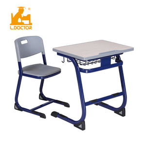 Cheap High School Furniture - high school desk and bench