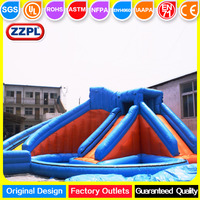 New Hot giant Inflatable water slide/garden water slide for sale