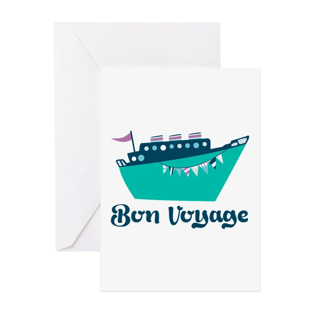Cheap bon voyage card find bon voyage card deals on line at alibaba get quotations cafepress bon voyage greeting cards greeting card note card with blank inside kristyandbryce Image collections