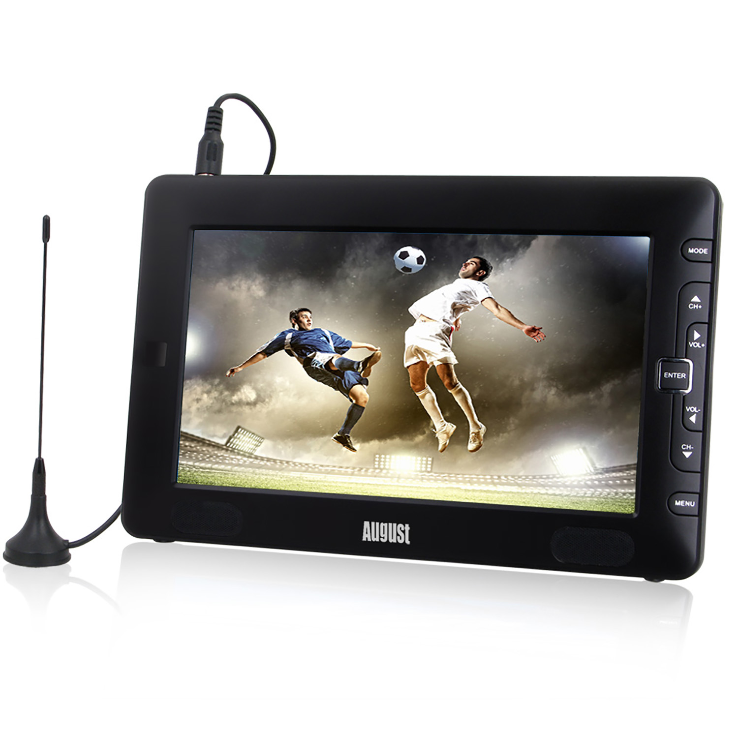 Wholesale 9 Inch Portable Freeview TV Small Screen LCD Television with Multimedia Player  Home Digital TV