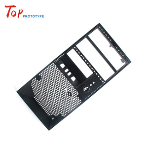Professional China Close Tolerance Engineering Plastic ABS computer serve case prototype Laser machining short run production