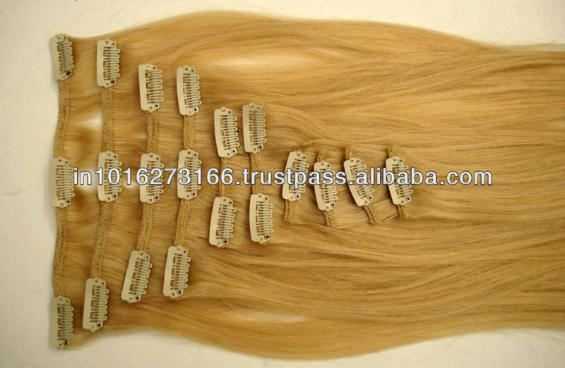 Virgin Clip in Hair Extension