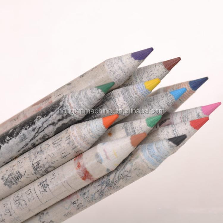 פסולת נייר עיפרון ביצוע מכונת, חדשות נייר עיפרון ביצוע מכונת, עפרונות ביצוע מכונת קו