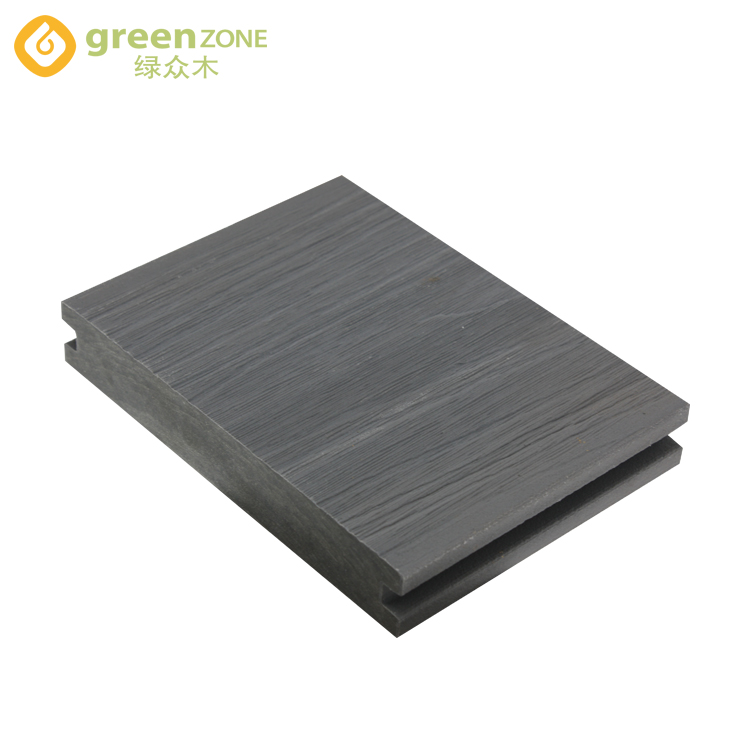 Zwembad exterieur hout composiet effen wpc decking in guangzhou