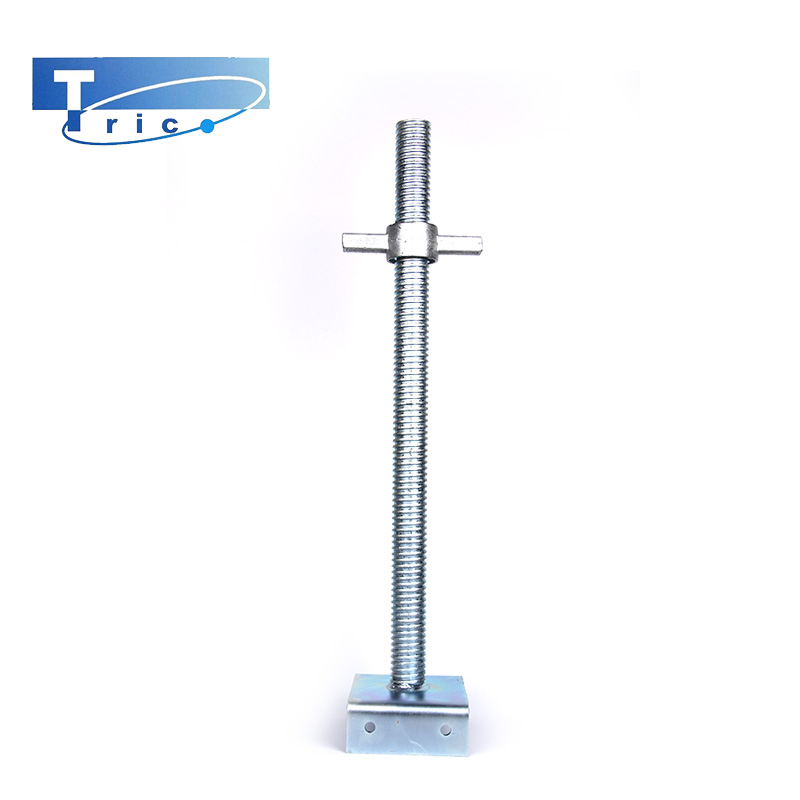 Hot Dip Galvanized Scaffolding Base Jack/Scaffold Base Plate/Painted Base Jack