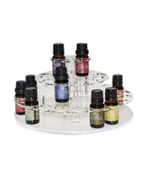Essential Oil Round acrylic Display Stand holder - 3 Tier