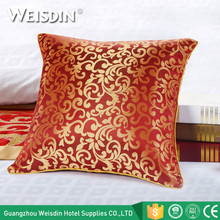 Made in China polyester covers hotel bed set sofa decorative cushions for sale