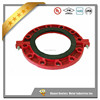 China factory foundry FM UL approved grooved pipe fitting threaded and grooved flange
