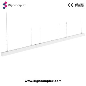LED linear light seamless connected/linkable type office lamp