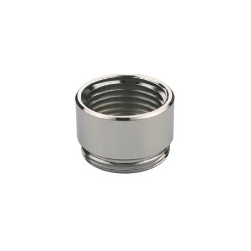 Chrome Finish Male 55//64-27 Bottom Threads Male 3//8-18 NPSM Top Threads Neoperl 15 3370 5 Faucet Adapter Solid Brass