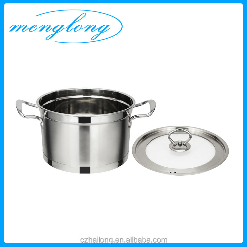 201 Stainless Steel Stock Pot Stainless Steel Pot For Cooking ...