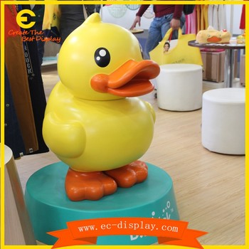 Funny Garden Statue Duck/donald Duck Statue For Decoration