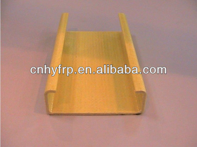 UV protection FRP pultruded fiberglass c channel