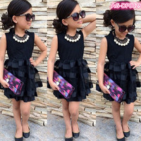 Buy 2014 New American Style Baby Dress Fancy Baby Party Wear ...
