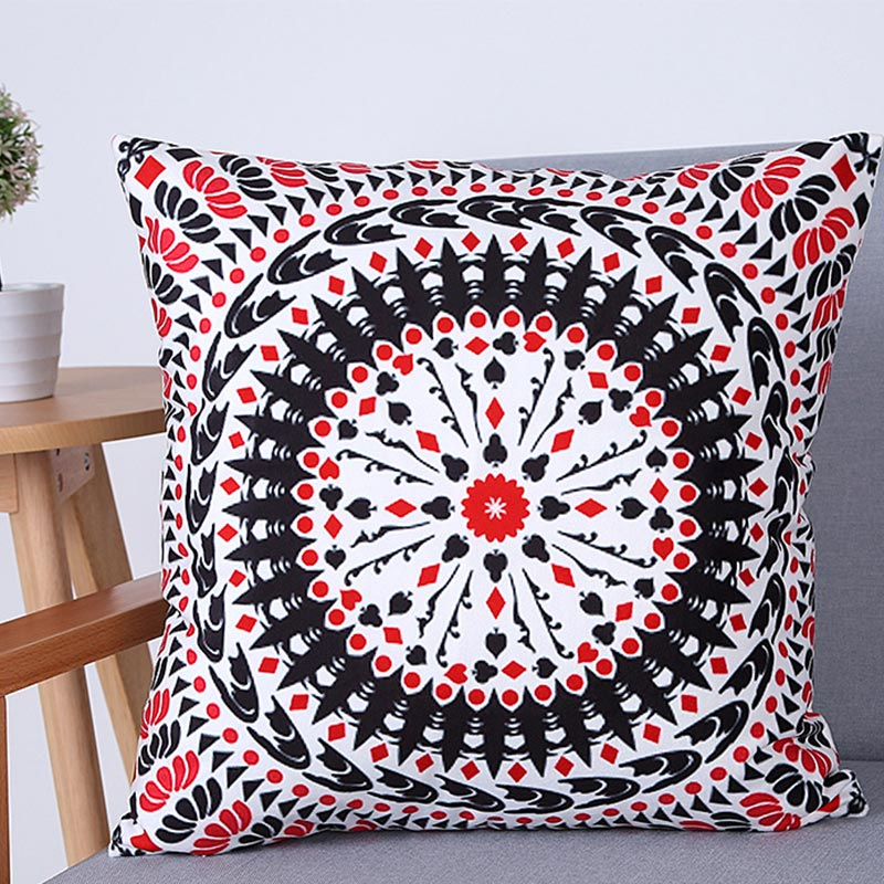 Decorative Cotton Boho  Bohemia Cushion Cover 45X45Cm Sofa Car Bedding Decorative Throw Pillow Case Cushions Home Decor