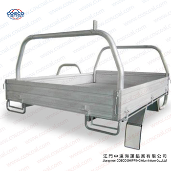 aluminium alloy tray body for toyo hilux single cab