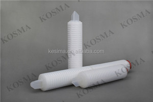 PP filter cartridge 10 inch 0.65micron 222 DOE 226 Fin Silicone Oring for industry water filtration water treatment