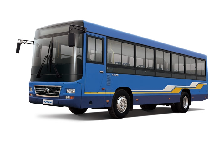 ZK6100NGA9 10m gas city bus Yutong 55 seats NG bus for sale