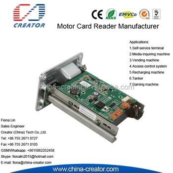 Self-service Terminal Rs232 Ic/rf Read & Write Card Reader Crt-288 - Buy  Manual Card Reader,Ic/rf Card Reader/writer,Self-service Terminal Manual  Card